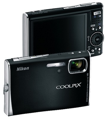 Coolpix S50 Digital camera (Black)