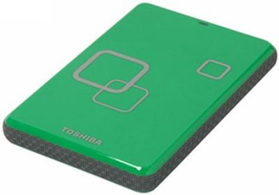 DS TS Canvio HD 640GB USB 2.0 Portable External Hard Drive - Komodo Green