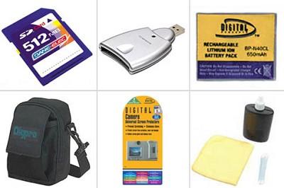 Bargain Accessory kit for DMC-FX7 Digital Camera