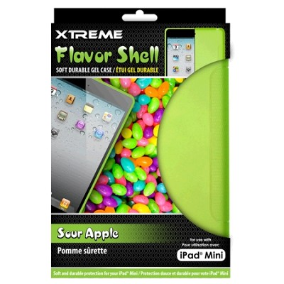 Sour Apple Flavor Shell Soft Durable Gel Case for the iPad Mini