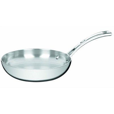 French Classic Tri-Ply Stainless 8-Inch French Skillet