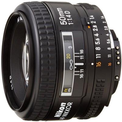50mm F/1.4D FX Nikkor DSLR Auto Focus Lens