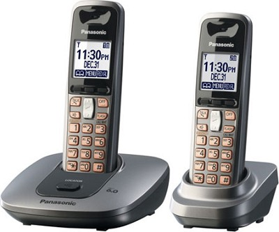 KX-TG6412M DECT 6.0 Expandable Digital Cordless Phone System