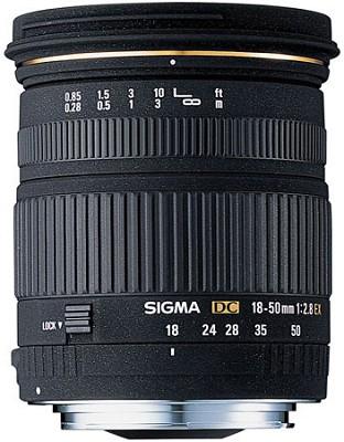 Super Wide Angle Zoom 18-50mm f/2.8 EX DC AF  new HSM Lens for Nikon Digital