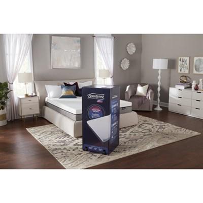 Beautyrest ST 10` King Memory Foam Mattress-In-A-Box W/ Sleep Tracker