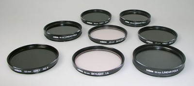 Special Lot of 8 Filters - 46, 49 & 52mm OPEN BOX