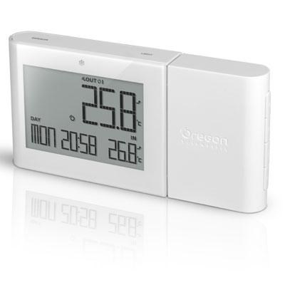 Alize Wireless Indoor/Outdoor Thermometer in White - RMR262W
