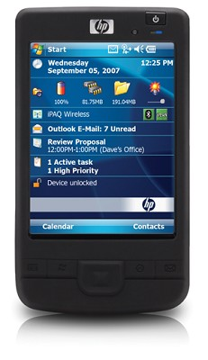 HP iPAQ 200 Series Enterprise Handheld - OPEN BOX