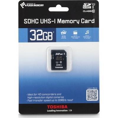 Secure Digital 32GB Class 10 UHS-I High Capacity SDHC Memory Card (PFS032U-1DCK)