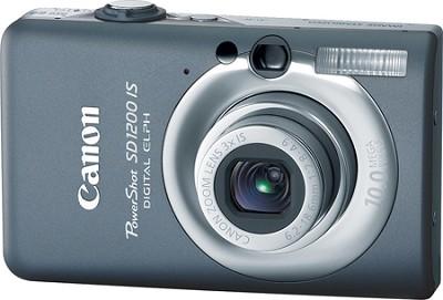 Powershot SD1200 IS 10MP Digital ELPH Camera (Dark Gray) - REFURBISHED