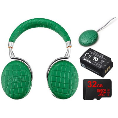 Zik 3 Wireless Noise Cancelling Headphones Ultimate Bundle (Emerald Green Croc)
