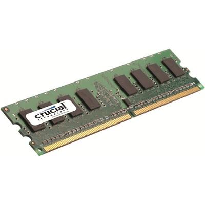 CT25664AA667 240-pin DIMM 2GB DDR2 PC2-5300 Memory Module