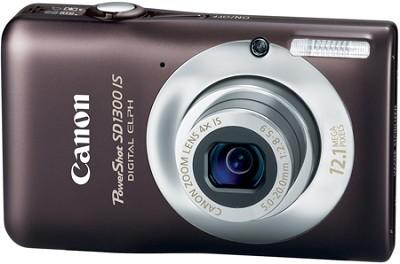 Powershot SD1300 IS 12MP Digital ELPH Camera (Brown)
