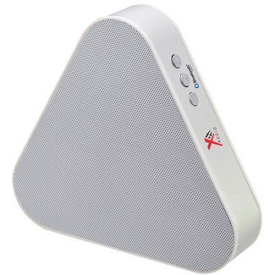 Triangular Bluetooth Speaker - White