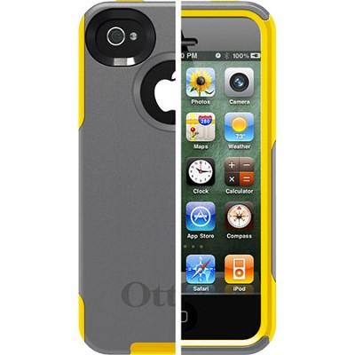 OB iPhone 4/4S Commuter - Gunmetal Grey PC / Sun Yellow