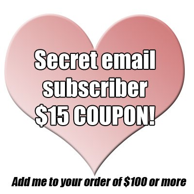 Mother's Day email subscriber special coupon