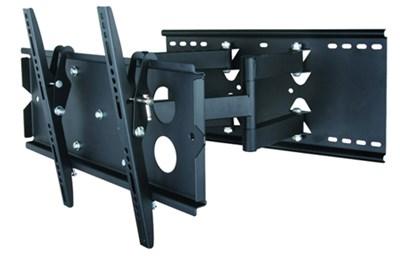 Full Motion Tilt & Swivel TV mount w/ level for 37-63 inch TVs - OPEN BOX