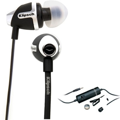 In-Ear Enhanced Bass Noise-Isolating Headphone Black - 1014811 with Microphone