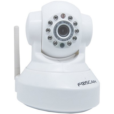 FI8918W Wireless Pan & Tilt IP/Network Cam w/Night Vision - White