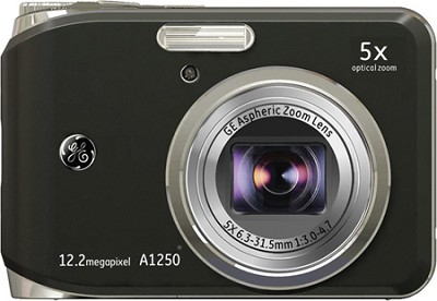 A1250 12.2MP 2.5` LCD 5x Zoom Digital Camera (Black)