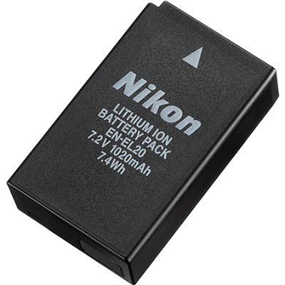 EN-EL20 Rechargeable Battery for Nikon 1 J1