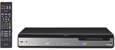 BD-HP20U AQUOS Blu-Ray Disc Player