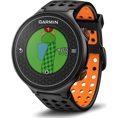Approach S6 Hi-Res Color Touchscreen GPS Golf Watch - Orange (010-01195-02)