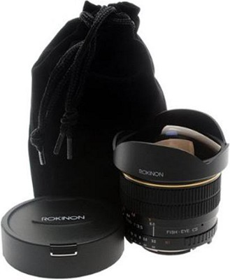 8mm f/3.5 Aspherical Fisheye Lens for Nikon DSLR Cameras - OPEN BOX