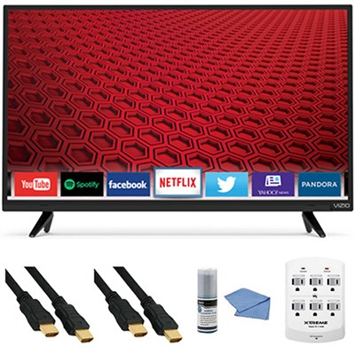 E32h-C1 - 32-Inch 720p LED Smart HDTV E-Series + Hookup Kit