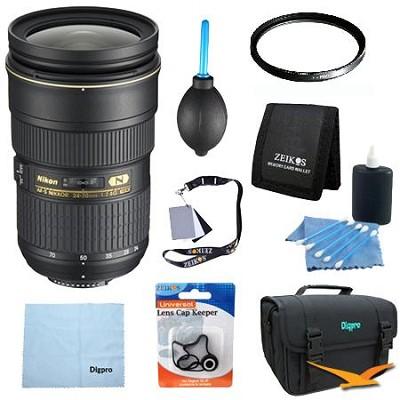 AF-S NIKKOR 24-70mm f/2.8G ED Lens Ultimate Bundle