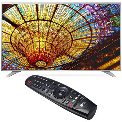 55UH6550 55-Inch 4K UHD Smart TV w/ webOS 3.0 Bundled w/ LG Magic Remote Control
