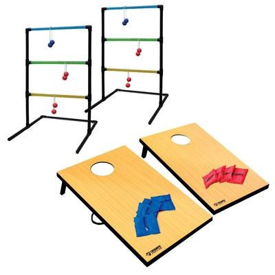 2-in-1 Tournament Bag Toss & Ladder Toss