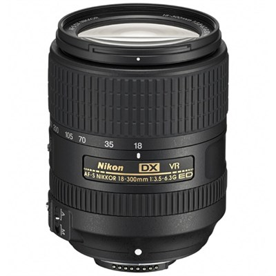 AF-S DX NIKKOR 18-300mm f/3.5-6.3G ED VR Zoom Lens (OPEN BOX)