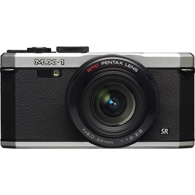 MX-1 12 MP Silver Digital Camera with 3` LCD and 1080p HD Video - OPEN BOX