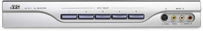 JX-S111S A/V Source Selector w/ Component Video Switching (Silver)