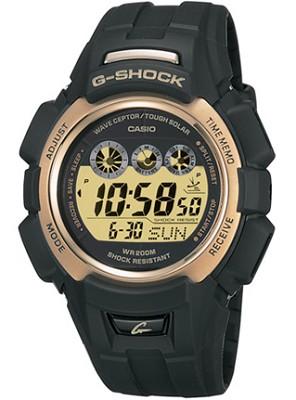 GW330A-9V - Men's G-Shock Digital Atomic Solar Black Resin Watch