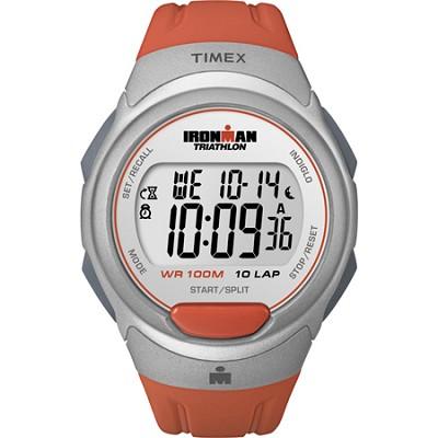 Traditional 10-Lap Ironman Orange Resin Strap Watch - T5K611