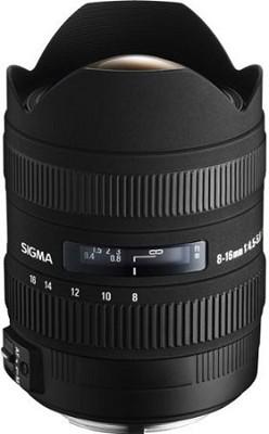 8-16mm f/4.5-5.6 DC HSM FLD AF Zoom Lens for Canon Digital DSLR Camera -OPEN BOX