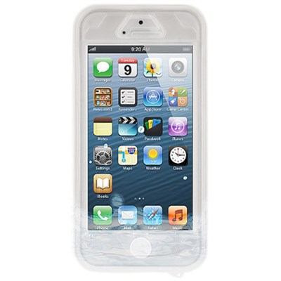 Vault Waterproof Cover for iPhone SE, 5 and 5s - White - OPEN BOX