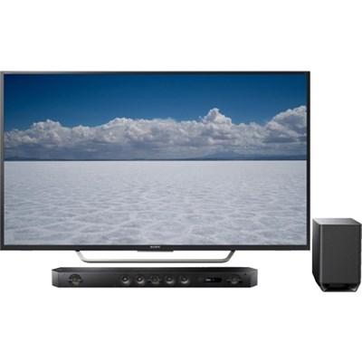 XBR-65X750D - 65` Class 4K Ultra HD TV & Hi-Res Soundbar HT-ST9 Bundle