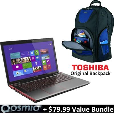 Qosmio 17.3` X875-Q7380 Notebook PC - Intel Core i7-3630QM Value Bundle