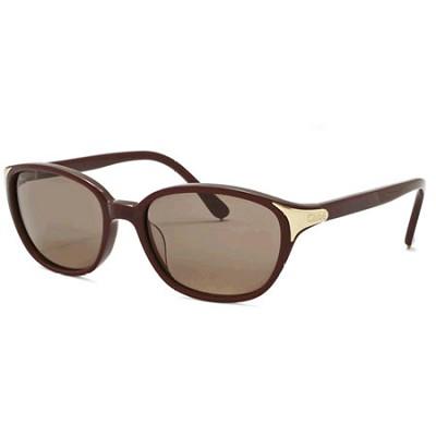C03 Fashion Sunglasses - Burgundy Frame/Brown Lens (CL2250C03)