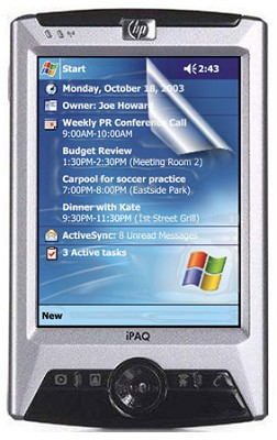 Screen Protectors for Ipaq 1900/2400/2700/3100/3700 Series PDA's (80947)