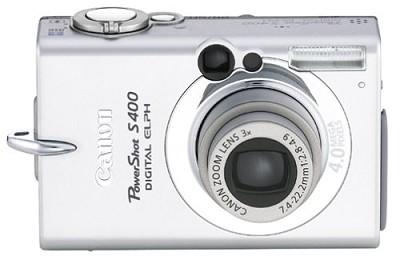 Powershot S400 Digital ELPH Camera