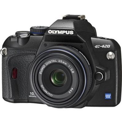 E-420 With 25mm f2.8 Lens