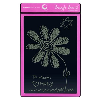 8.5-Inch LCD Writing Tablet, Pink (PT01085PNKA0002) With Message Center
