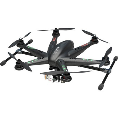 TALI H500 Ready to Fly Hexcopter w/ DEVO 5` LCD Remote, HD Camera, & G-3D Gimbal