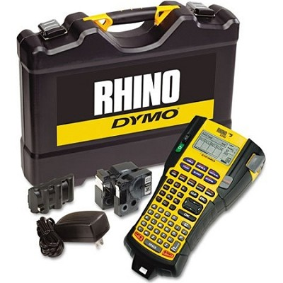 Rhino 5200 Industrial Label Maker Kit, 5 Lines