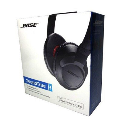 SoundTrue On-Ear Headphones (Black) - OPEN BOX