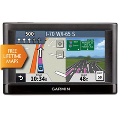 nuvi 44LM US and Canada 4.3` GPS Navigation System with Lifetime Map Updates